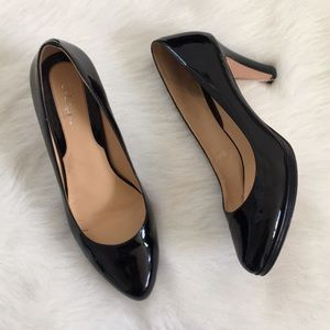 { Cole Hann } Heel in Black patent leather